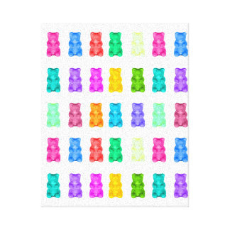 Gummy Bears Canvas