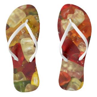 Gummy Bears Flip Flops