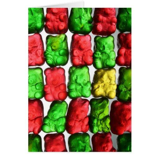 Gummy Bears Greeting Card
