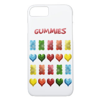 Gummy Bears, Jelly Hearts iPhone 7 Case