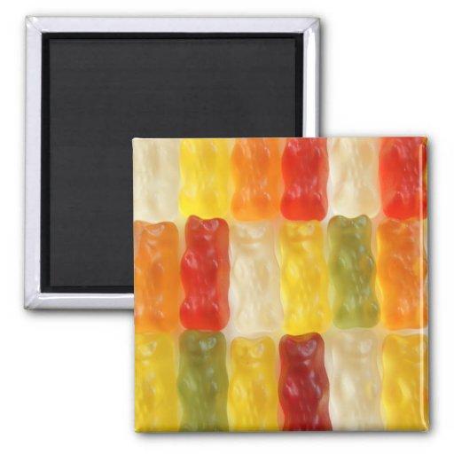 gummy bears fridge magnet
