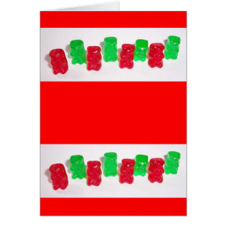 Gummy Christmas Card