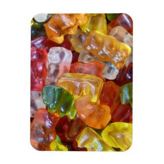 Gummy magnet