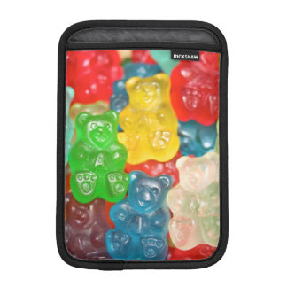 gummybears,candy,colorful,fun,kids,kid,children,pa iPad mini sleeve