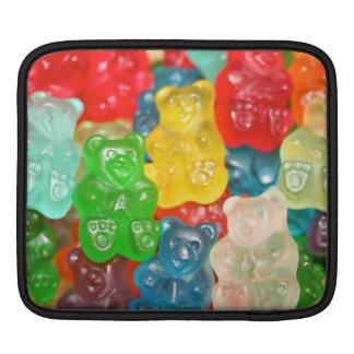 gummybears,candy,colorful,fun,kids,kid,children,pa iPad sleeve