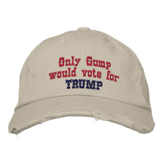 Gump Embroidered Baseball Cap