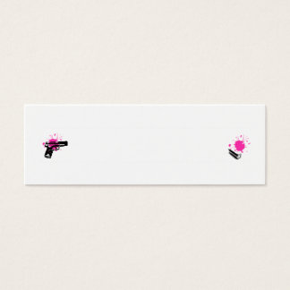 Gun and Bullet Profile Card - ADD TEXT!