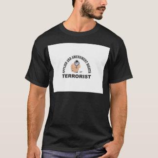 gun and terrorist in the usa T-Shirt