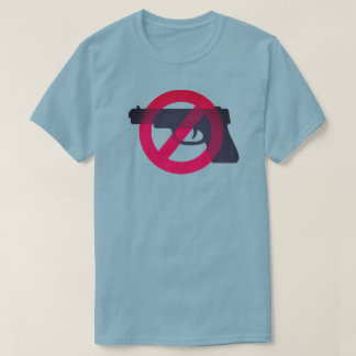 Gun Control Anti Violence Anti Gun Symbol Sign T-Shirt