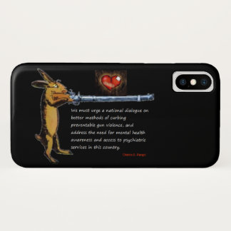 Gun Control - Charles B. Rangel Quote Case-Mate iPhone Case