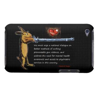 Gun Control - Charles B. Rangel Quote Case-Mate iPod Touch Case