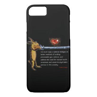 Gun Control - Charles B. Rangel Quote iPhone 8/7 Case
