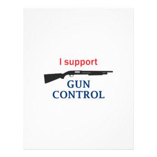 Gun Control Letterhead