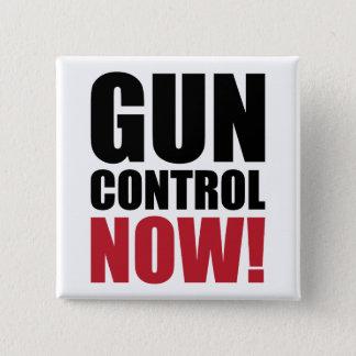 Gun control now 2 inch square button