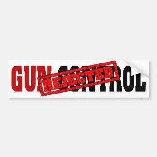 Gun Control Rejected Bumper Stickers