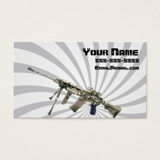 Gun dealer business card