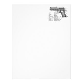 Gun Diagram V2 Letterhead Design