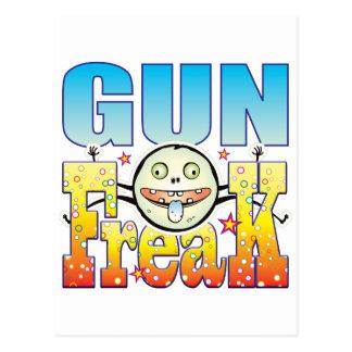 Gun Freaky Freak Postcard