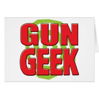 Gun Geek Greeting Cards