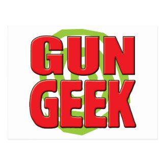 Gun Geek Postcard