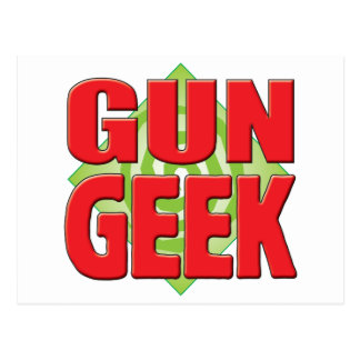 Gun Geek v2 Post Card