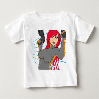 gun girl 3 baby T-Shirt