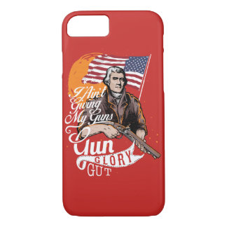 Gun Glory Gut Glossy Phone Case