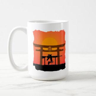 Gun Jutsu Torii Gate Mug Day/Night