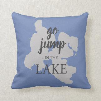 Gun Lake Pillow