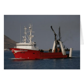 Gun Mar, Fishing Trawler in Dutch Harbor, AK Greeting Card