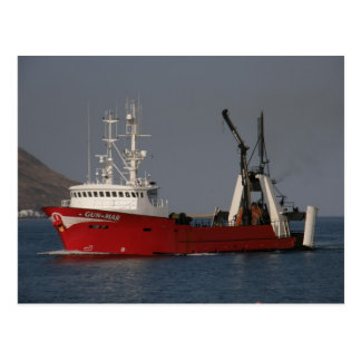 Gun Mar, Fishing Trawler in Dutch Harbor, AK Postcard