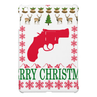 GUN MERRY CHRISTMAS . iPad MINI CASE