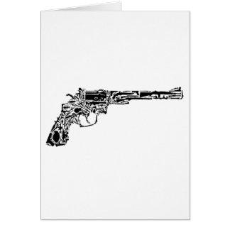 Gun of Guns Greeting Cards