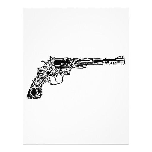 Gun of Guns Personalized Letterhead