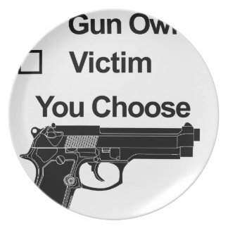 gun owner victim you choose plate