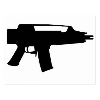 Gun Postcard
