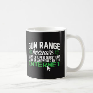 Gun Range; All Questions Not on the Internet Coffee Mug