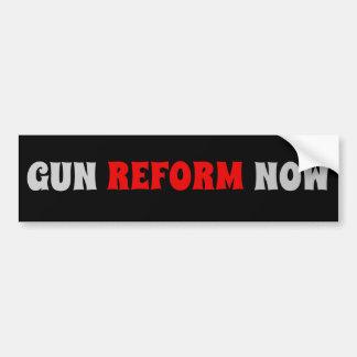 Gun Reform Now Anti Gun Bumper Sticker