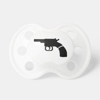 Gun revolver pacifier