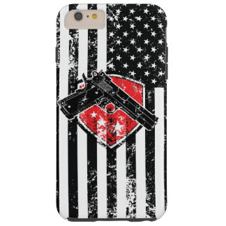 Gun Rights American Flag iPhone 6 Plus Case