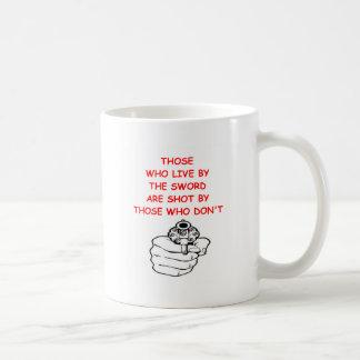 gun rights coffee mug
