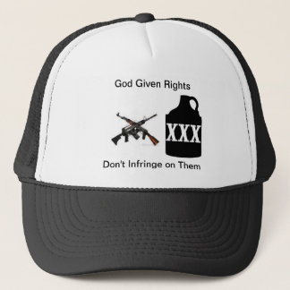 Gun rights trucker hat