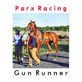Gun Runner Postcard