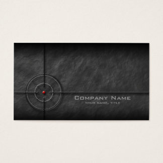 Gun Shop Target Business Card