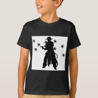 Gun slinger western shoot-out T-Shirt