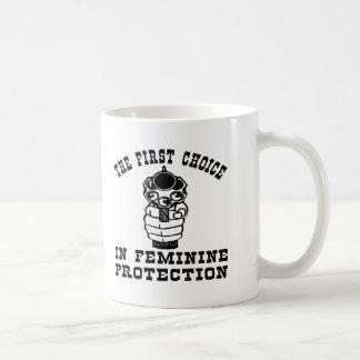 Gun, The 1st Choice In Feminine Protection Coffee Mug