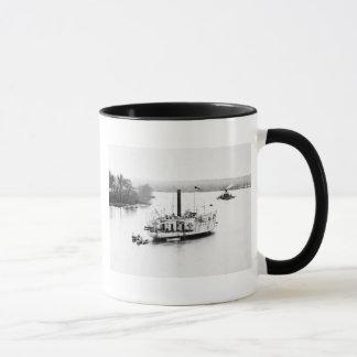 Gunboat Commodore Perry: 1860s Mug