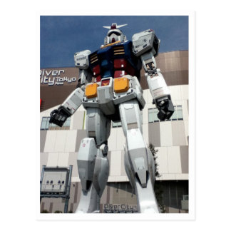 Gundam RX-78 Postcard
