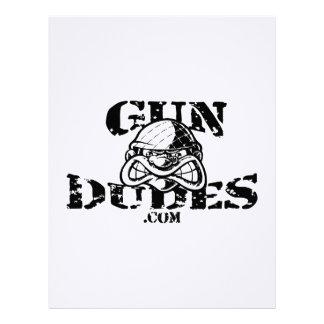 GunDudes Letterhead Design