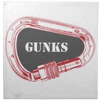 Gunks Climbing Carabiner Napkin